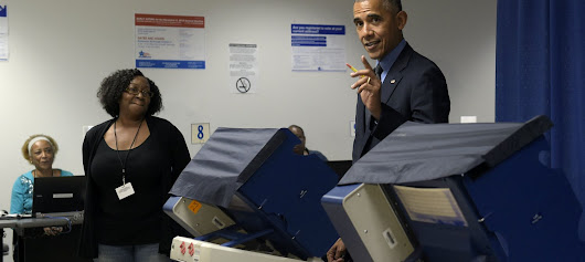 Obama Casts an Early Vote — Here's How You Can, Too!