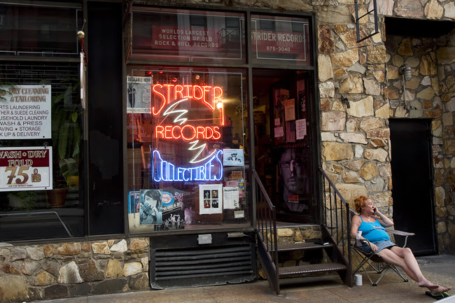 Strider Records, NYC