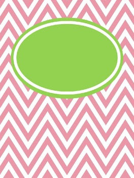 Chevron Binder Covers (editable and free) by A Year of Many Firsts ...