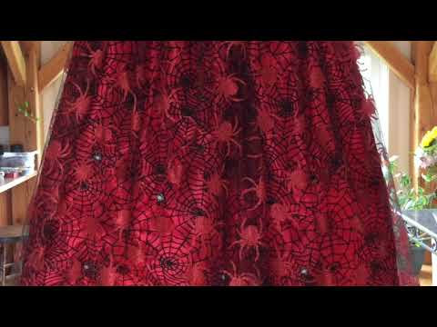 Spidery Sparkle Skirt