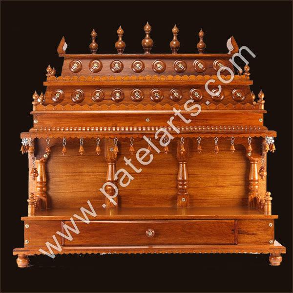 Wooden Temple Mandir Home Indian Design Small Wooden Mandir Hand