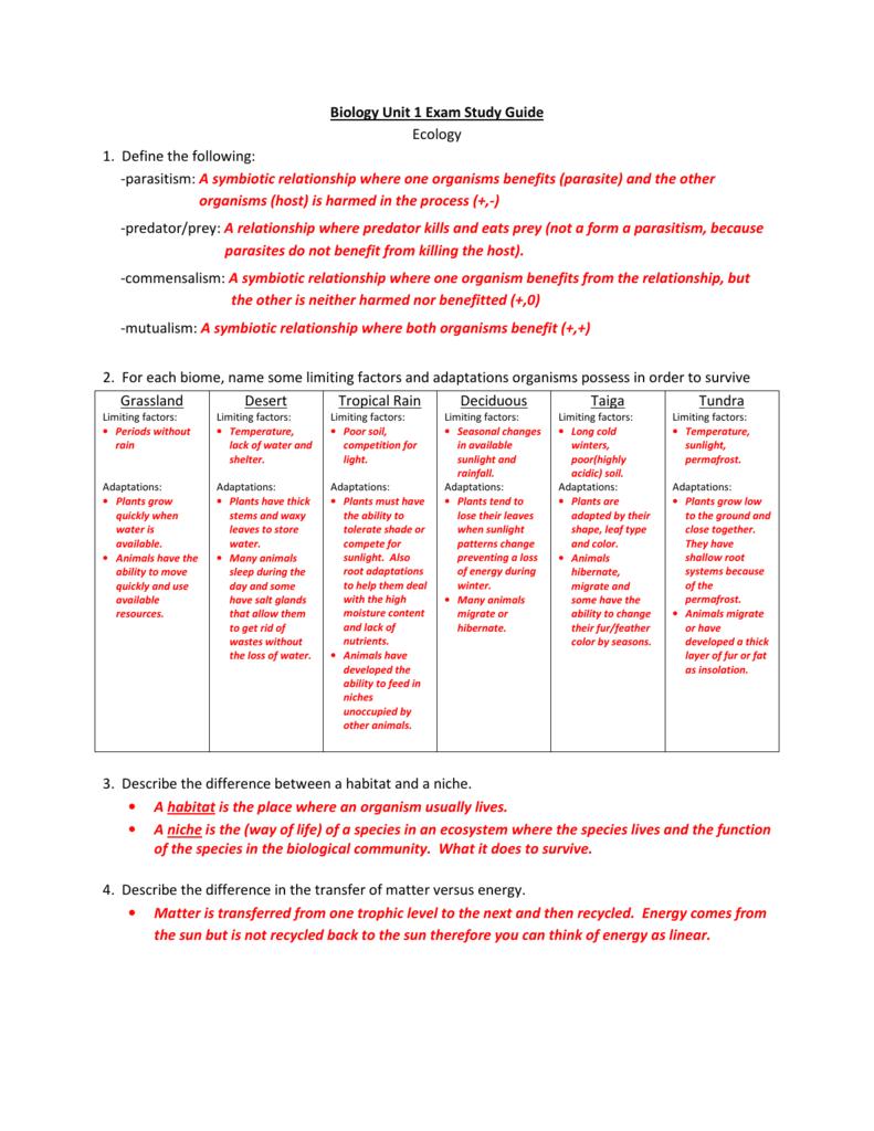 31 Ecological Relationships Worksheet Answers - Worksheet ...