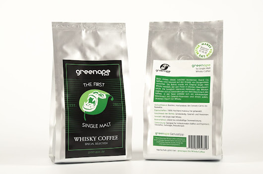 Unser 1st Single Malt Whisky Coffee ist verfügbar | GreenApe - Makes Your Life Better