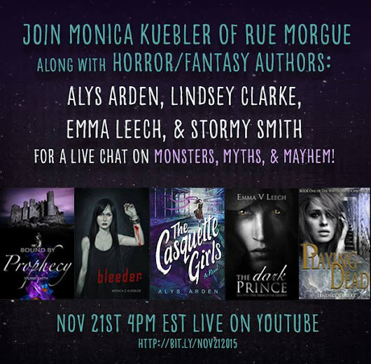 Join Alys Arden, Monica S. Kuebler and more for MONSTERS, MYTHS & MAYHEM | Rue Morgue