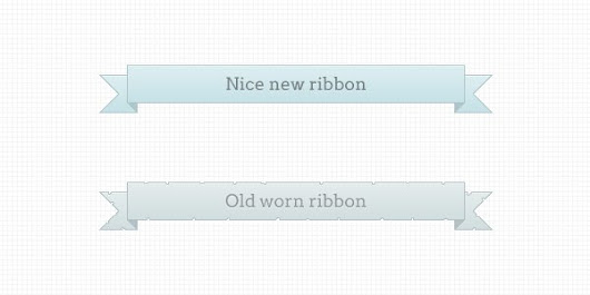 Ribbons new and worn - 365psd