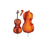 Carlo Robelli 355 Core Academy Cello Outfit (3/4)