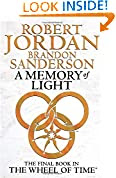A Memory of Light by Robert Jordan book cover