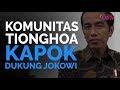 Komunitas Tionghoa Kapok Dukung Jokowi