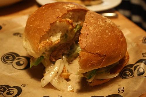 Three Little Piggies Burger