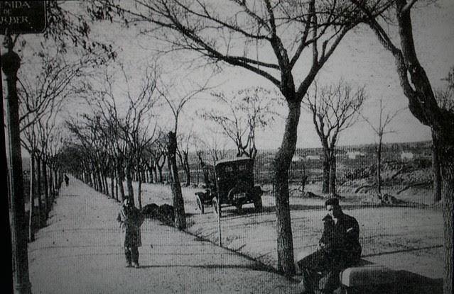 Avenida de Barber a principios del siglo XX