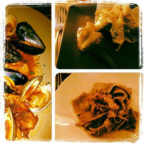 Dining Out: Three of our Four Courses at Farina