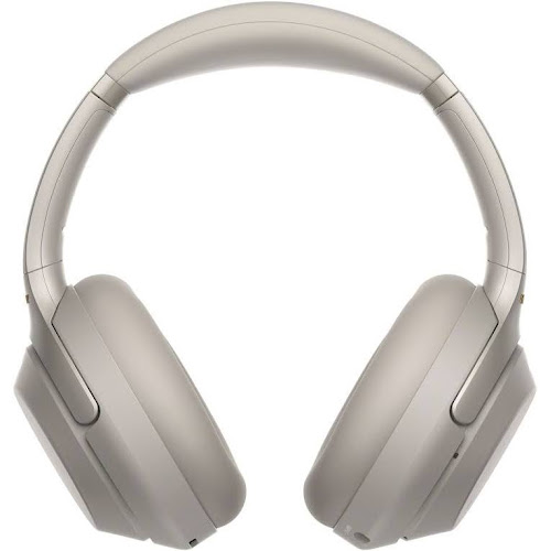 Sony Wireless Noise-Canceling Headphones - Silver