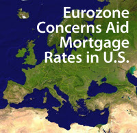 Eurozone concerns aid mortgage rates