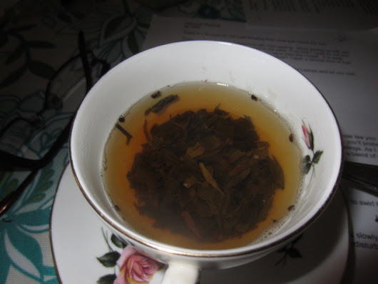 Fun with Reading Tea Leaves – How you can do it too.