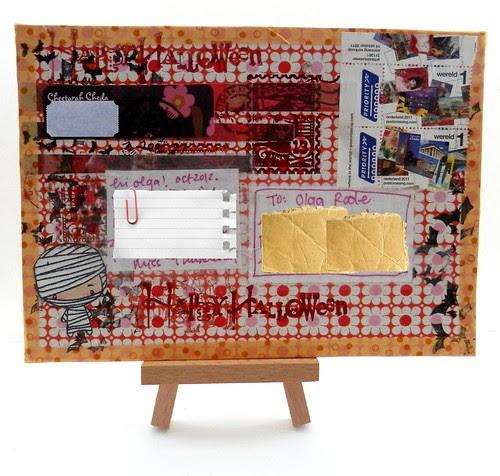 mail art 365-285 back by Miss Thundercat