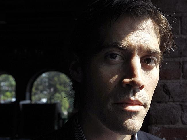 Shocking ... American journalist James Foley was abducted by ISIS militants in 2012 and b