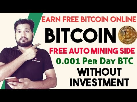 Earn Free Bitcoin Daily- 0.001 BTC A Day And Ethereum -Quickly Earning Trick, Earn Money, solidminer