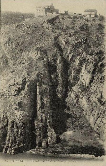 Ermita de la Cabeza a finales del siglo XIX. Foto L. Levy