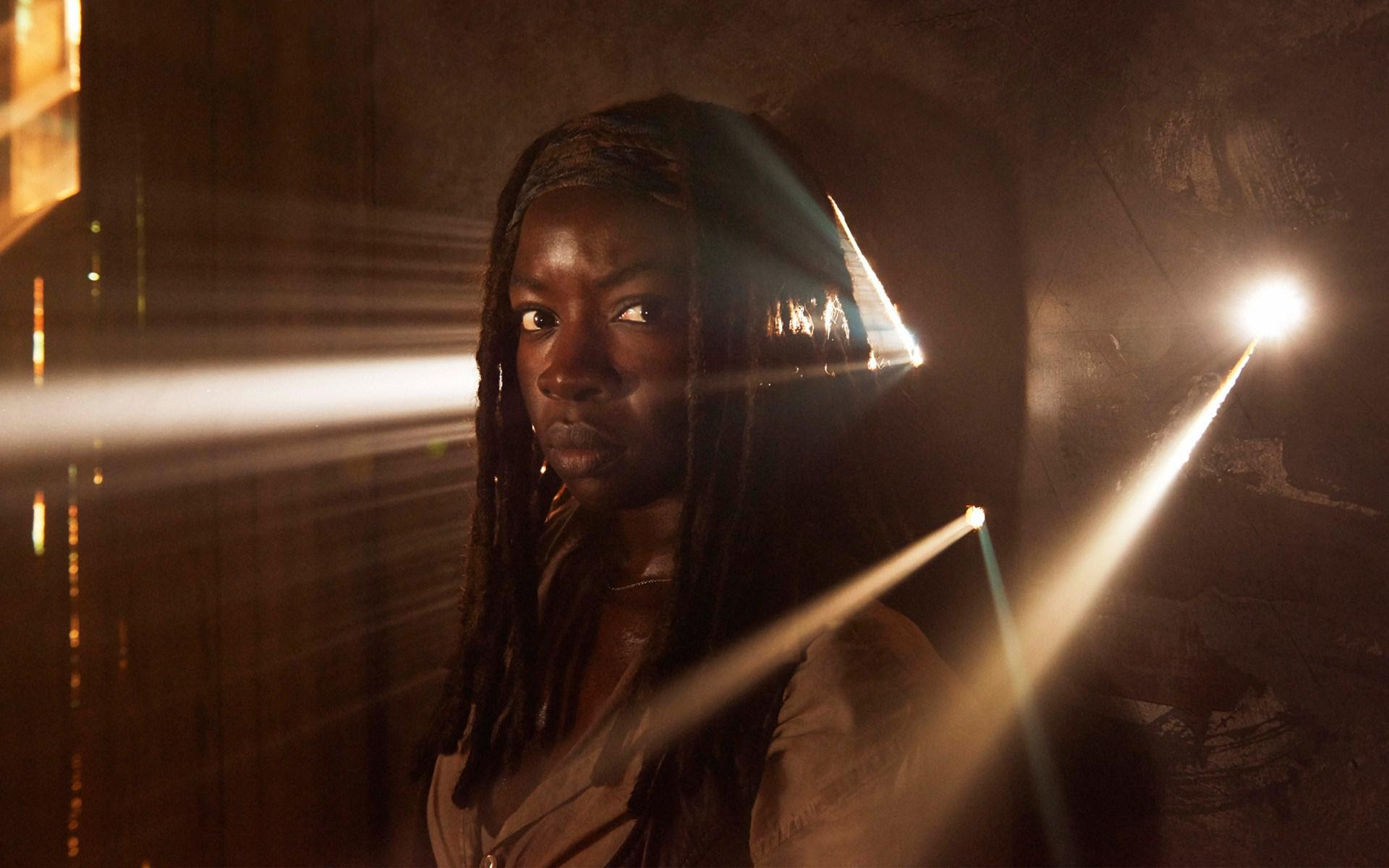 Hd Danai Gurira In The Walking Dead Season 5 Hd Wallpaper
