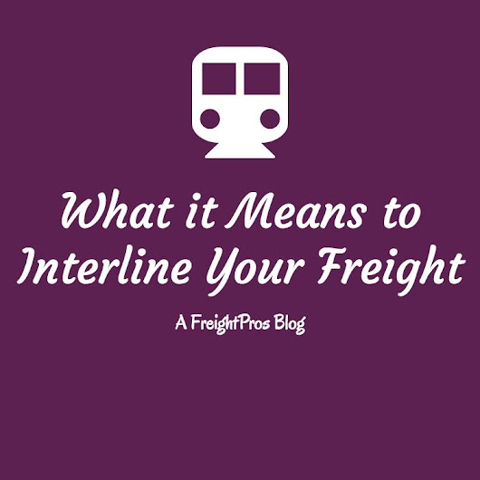 Interline Freight Definitions | LTL & Truckload Shipping