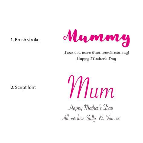Personalised Mother's Day Butterfly Framed Art   Sweet Dimple
