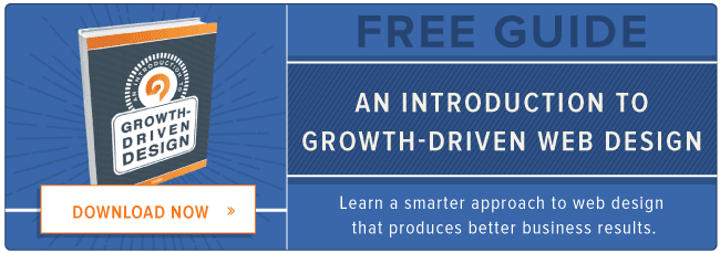 introduction to growth-driven web design
