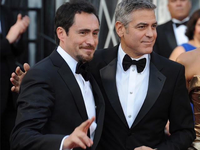 Demian Bichir George Clooney Stacy Keibler Oscar