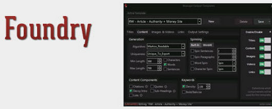 Content Foundry Review: Content Generation for GSA SER & RankWYZ - Noob Warrior
