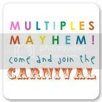 Multiples Mayhem Carnival at two become four