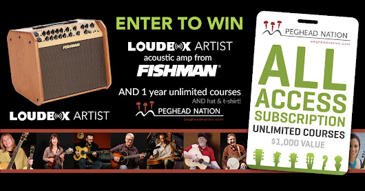 Enter to Win a Spring Prize Package from Fishman & Peghead Nation