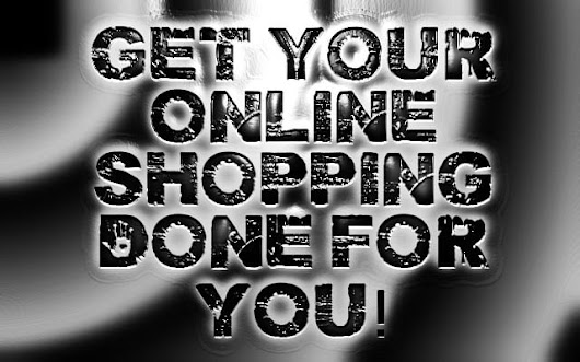 I will shop online for you