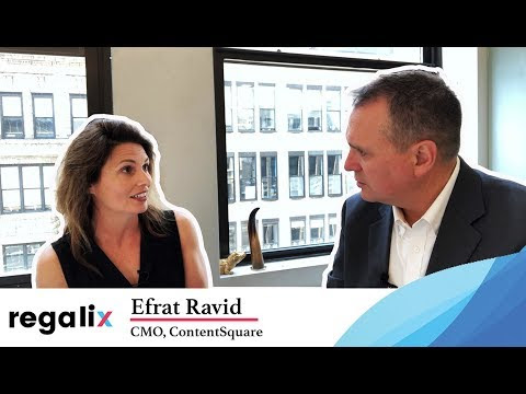 Digital and Marketing Leadership Series: Efrat Ravid, CMO ContentSquare