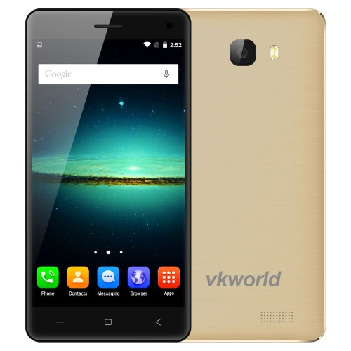 "Original vkworld T5 SE 4G FDD-LTE Smartphone 5.0"" HD IPS 1280*720px Screen Display 64Bit MTK6735 Quad-core 1GB RAM 8GB ROM Android 5.1 OS 5.0MP+8.0MP Dual Camera 2000mAh Battery GPS+AGPS WiFi BT4.0 Phone"