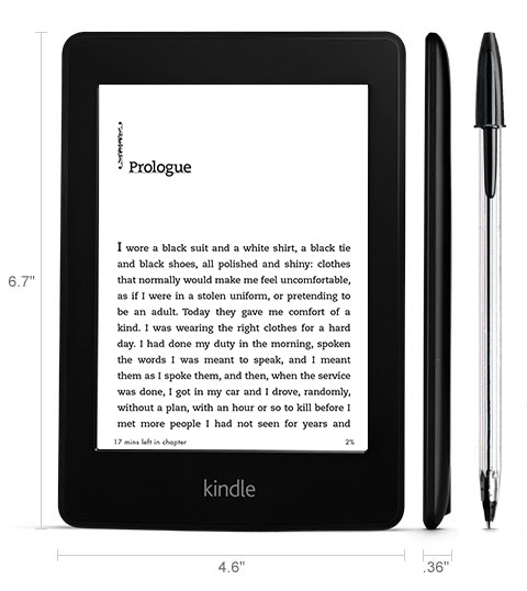 Kindle Paperwhite Touch Screen E-Reader with Light