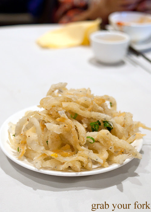 Fried whitebait at The Eight, Chinatown