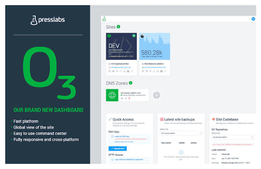 Introducing our new and improved dashboard | Presslabs