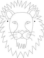 Kağıttan Aslan Maskesi