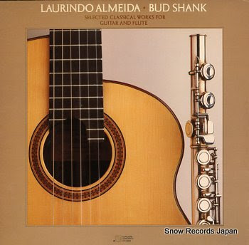 ALMEIDA, LAURINDO - BUD SHANK selected classical works for guitar and flute