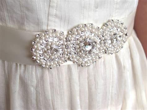 Create Your Own Stunning Crystallized Bridal Sash