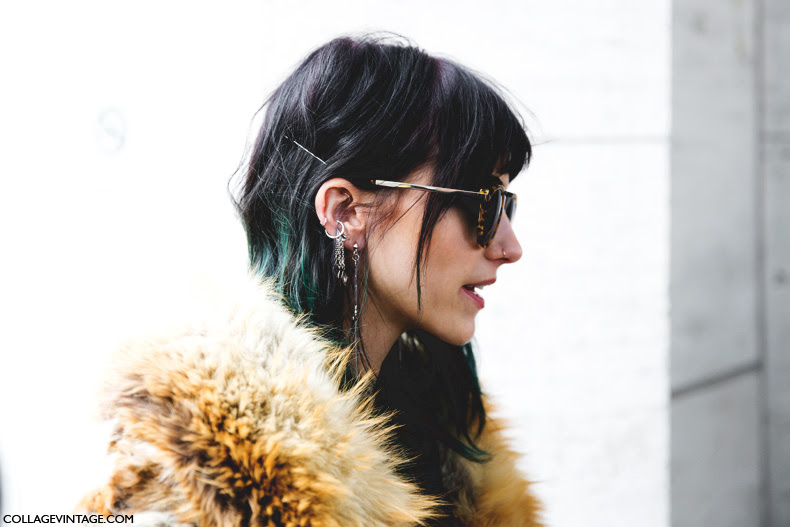 New_York_Fashion_Week-Street_Style-Fall_Winter-2015-Fur_Coat-Earrings-Langley_Fox-2