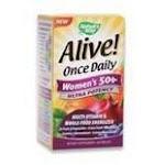 Nature's Way Alive! Womens 50+ Multi Vitamin, Nature's Way, Vitamins and Supplements