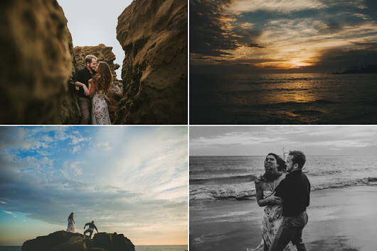 Heisler Park Laguna Beach Engagement Photos | Temecula Wedding Photographer