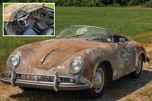 You won't believe how much this 60-year-old rust-bucket Porsche 1600 Super Speedster is worth – far more than