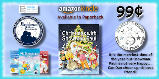 BLOG POST ➣ Today's Featured .99¢ Kindle Book Is Out ➣ Christmas with Snowman Paul @snowmanpaul
