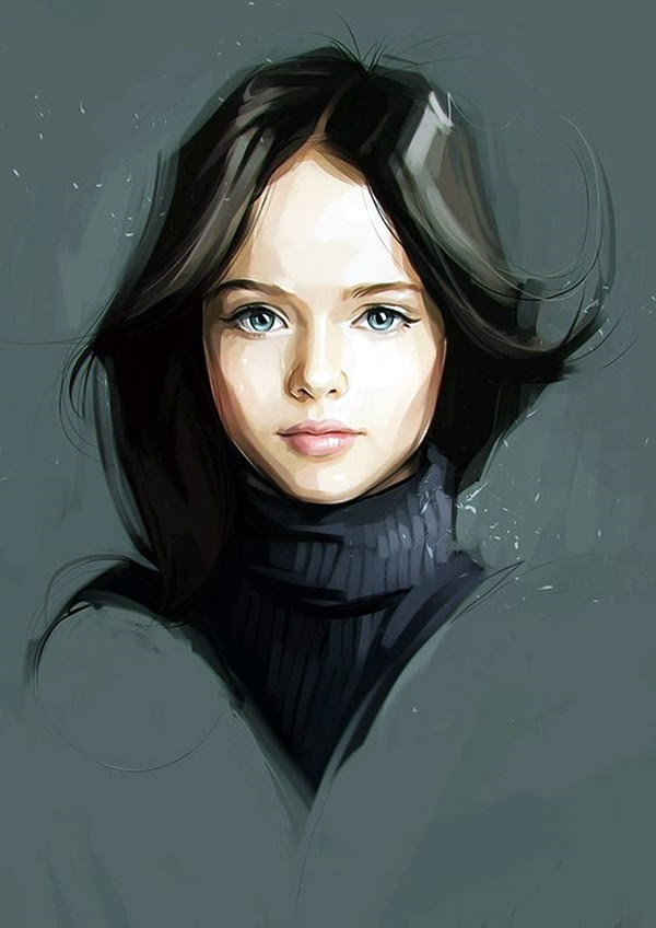 Spectacular Digital Painting Portraits (36)