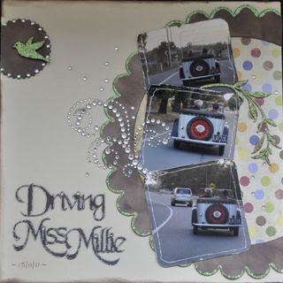 Driving Miss Millie Jan Sketch