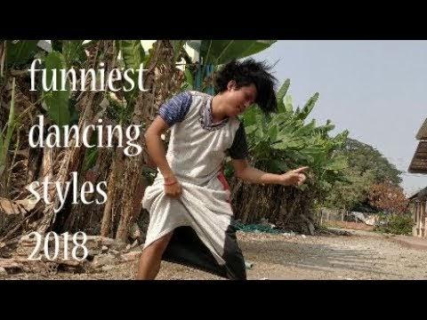 កំពូលក្បាច់រាំ? ខិខិខិខិ សើចជាមួយកន្ដ្រប់រាំ 40 funny dancing styles ever