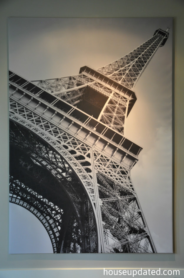 Amazoncom New Ikea Eiffel Tower Picture With Framecanvas Large 55