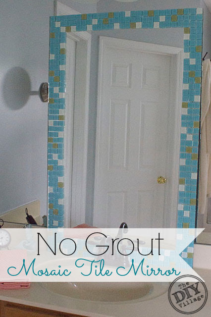 Diy Mosaic Tile Bathroom Mirror Greenmamahkstoremagecloudnet