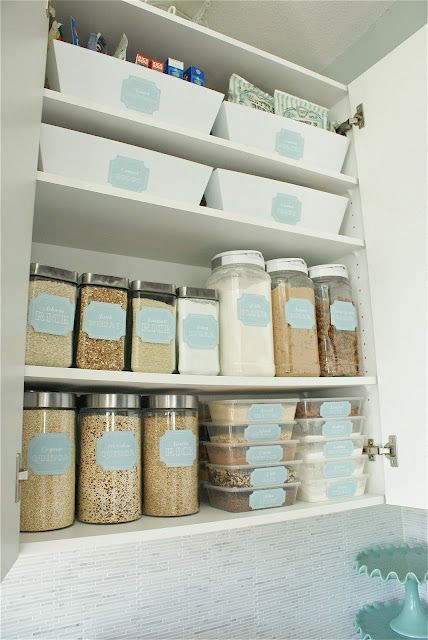Dollar store pantry makeover-Must Do!